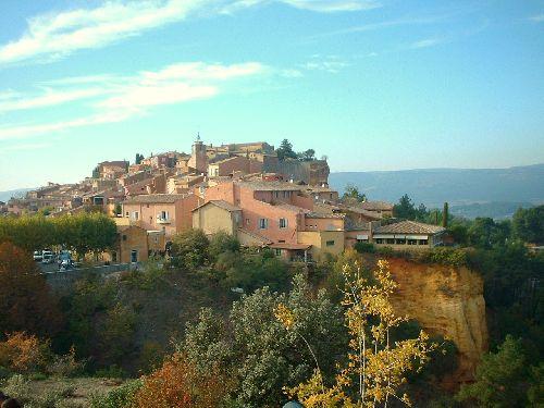 village de Roussillon.