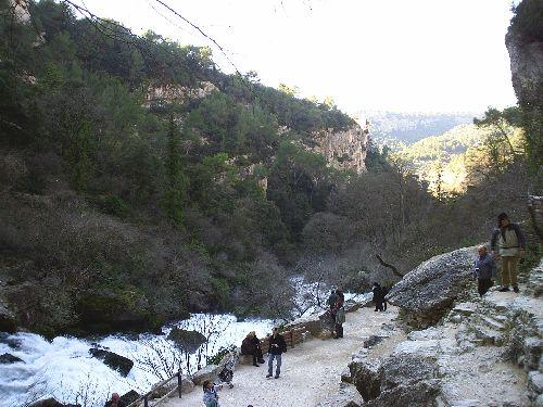 Fontaine de Vaucluse 20 février 2009