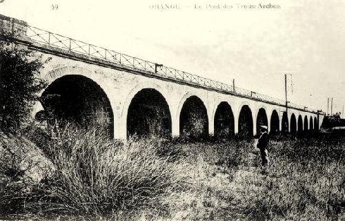 Le pont des 13 arches à Orange