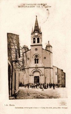 L'église de Mondragon