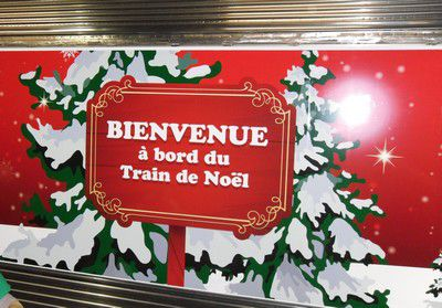 Le train de Noël 2010