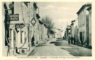La traversée du village de Lapalud