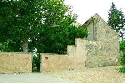 Propriéte de l' Harmas de Jean-Henri Fabre juste en face du musée Naturoptére de Sérignan du Comtat