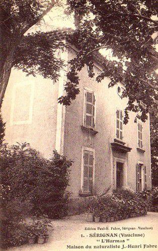 Maison de Naturaliste Jean-Henri Fabre à Sérignan du Comtat