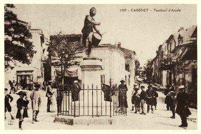 Statue du Tambour d'Arcorle à Cadenet