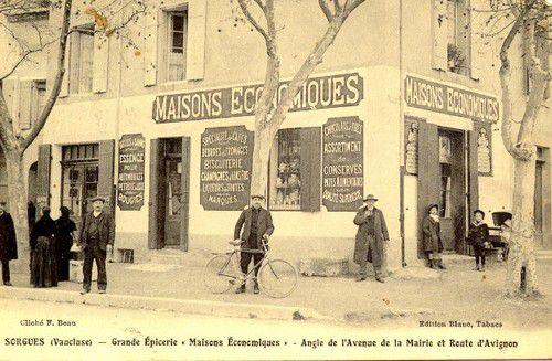 SORGUES Grande épicerie route d'Avignon et Avenue de la mairie