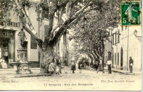 SORGUES rue des Remparts