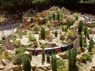 Le jarditrain à ST Didier