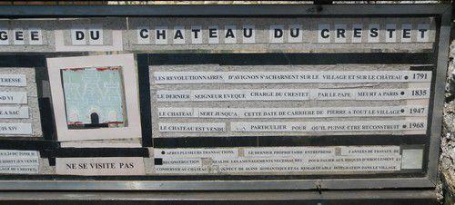 Crestet en Vaucluse