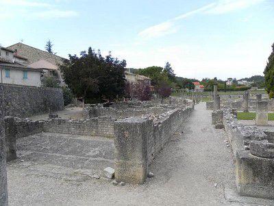 Ruines de Vaison la Romaine