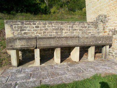 Linteau de la chapelle Ste Marguerite (origine romaine)