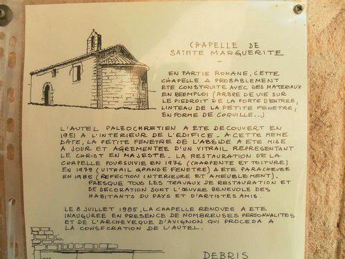 Explication de la chapelle
