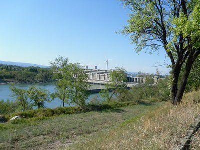 Barrage à Bolléne