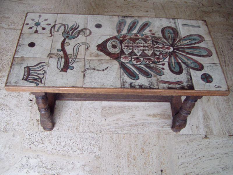 table basse monogramme de gustave raynaud lui m me commande sp ciale de la bergerie vers. Black Bedroom Furniture Sets. Home Design Ideas