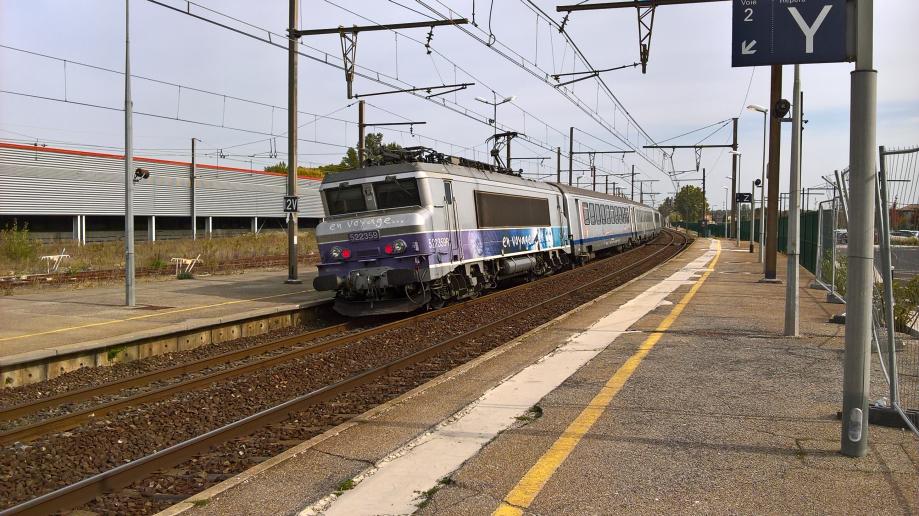Gare d'Orange octobre 2021