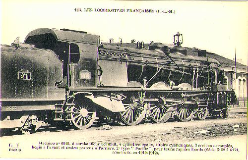 LOCOMOTIVE PACIFIC PLM