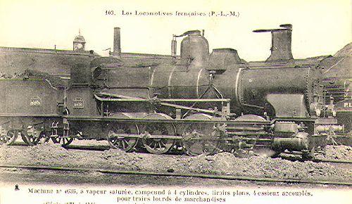 LOCOMOTIVE 040 PLM