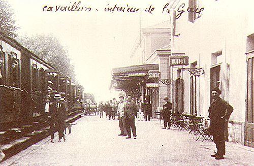 LA GARE DE CAVAILLON - LE BUFFET
