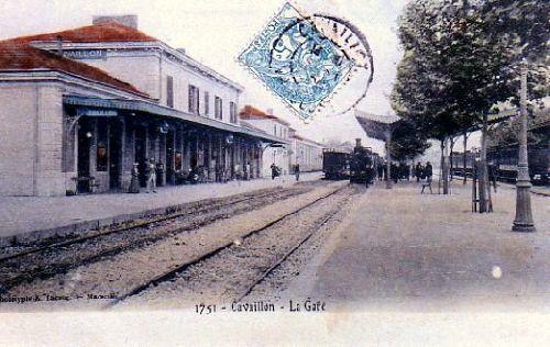 EN GARE DE CAVAILLON