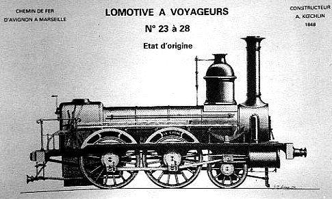 LOCOMOTIVE 120 LE CYGNE