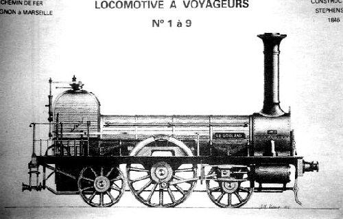 LOCOMOTIVE  A VAPEUR TYPE 111