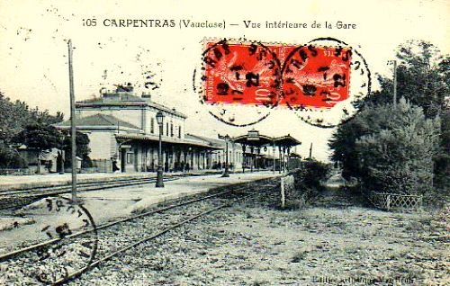 LA GARE DE CARPENTRAS