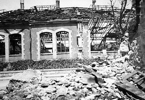 AVIGNON DEPOT SNCF 1944