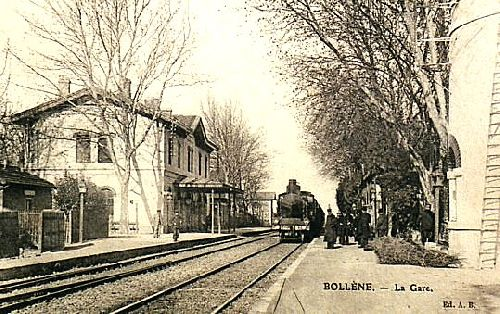 GARE DE BOLLENE