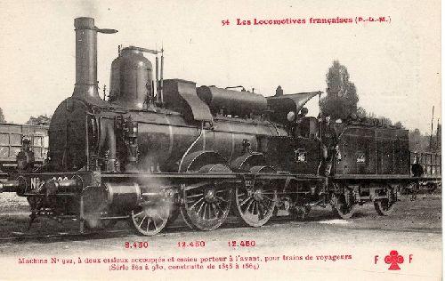 Locomotive 120 PLM