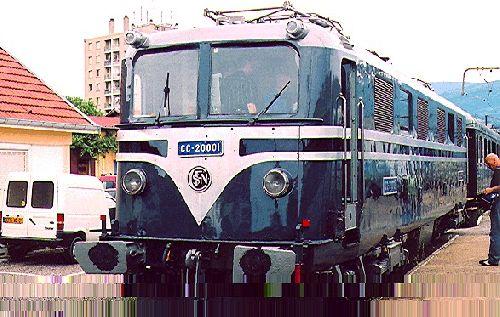 LOCOMOTIVE CC 20001