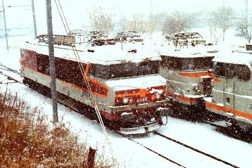 CC 6545 sous la neige