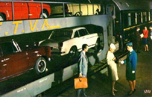 TRAIN AUTO COUCHETTE