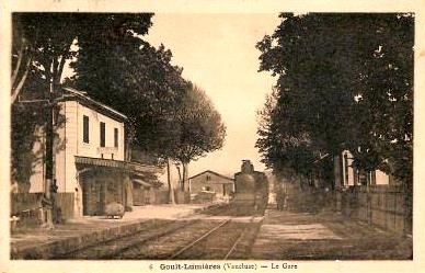 GARE DE GOULT-LUMIERES