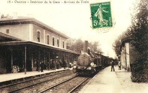 ORANGE LE TRAIN