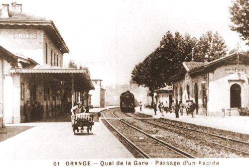 ORANGE LA GARE