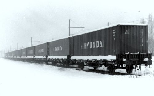 WAGON PORTE CONTAINERS