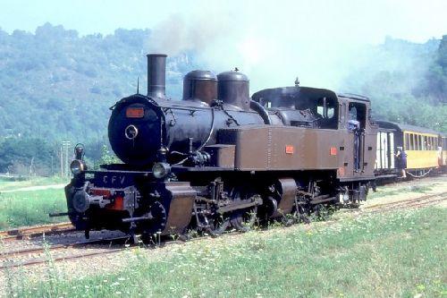 LOCO 414 Des CDF du Vivarais