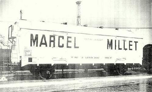 WAGON FRIGO MILLET