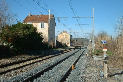 la gare de Gadagne