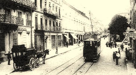 Avignon rue de la répubique