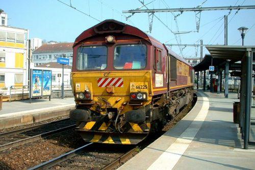 Locomotive diesel Euro Cargo Rail