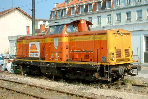 Loco colas rail