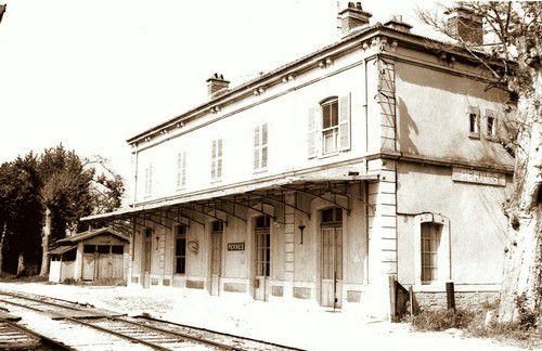La gare de Pernes
