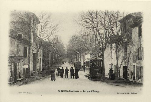 Tramways d'Avignon à Sorgues