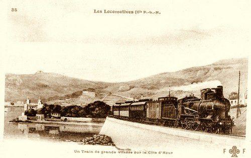 Train rapide Côte d'Azur
