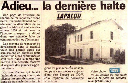 Gare de Lapalud