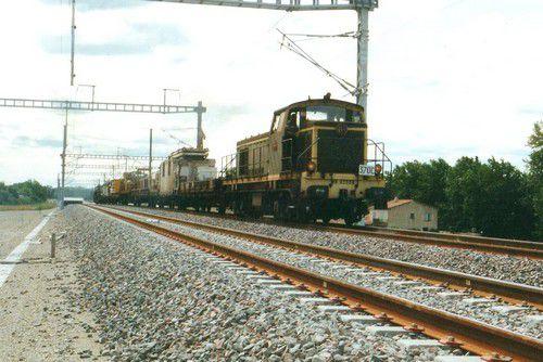 train de travaux LN5