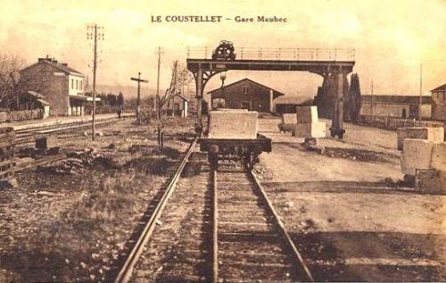 Coustellet La gare