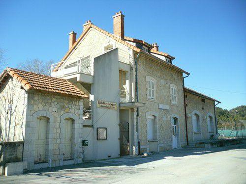 Ex gare du Crestet