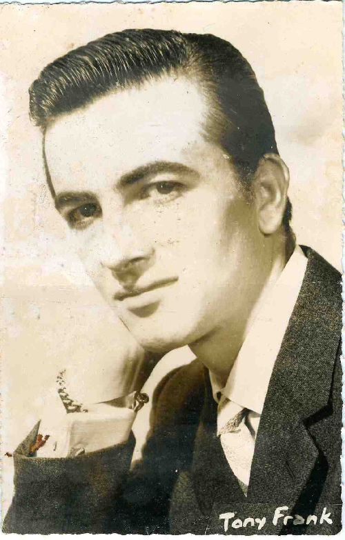 Tony FRANK chanteur en 1962